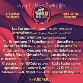 Line up Total Womad Chile 2019